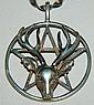 Sterling deer pendant on chain