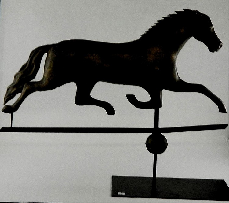 19th Century Folk Weathervane Horse