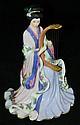 Harp Princess by Len Liu, Danbury Mint