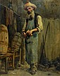 Numa Francois Gillet oil on canvas