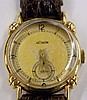 14 kt. gold, LeCoultre wrist watch