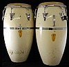 Pair of Latin Percussion Bongo Drums