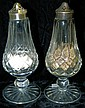 Waterford crystal salt & pepper shakers