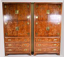 Dynasty by Heritage Pair of Cabinets