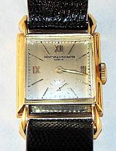 Vacheron & Constantin 18K Gold Men's Wrist Watch