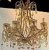 Beaded Glass Chandelier