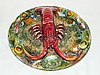 Palissy Type Charger, Lobster.