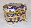 Hand Painted Limoges Dresser Box
