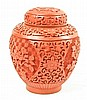 Cinnabar Ginger Jar, w/label