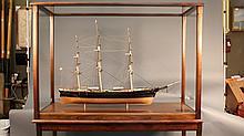 Model of clipper ship