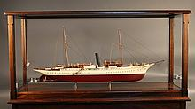 Museum quality model of the Presidential steam yacht