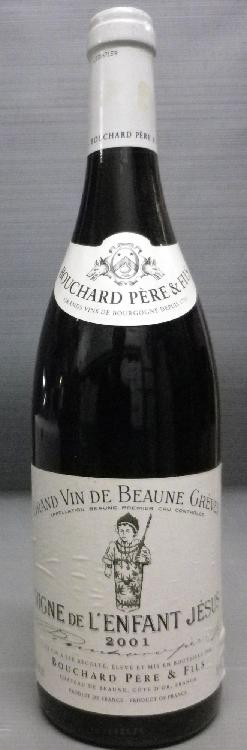 1 Bouteille BEAUNE GREVES