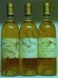 3 Bouteilles RIEUSSEC Étiquettes légèrement tachées, abîmées.  Labels lightly stained, damaged.  1999