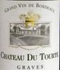 12 Bouteilles Ch. DU TOURTE - GRAVES BLANC 2008