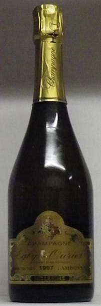 1 BOUTEILLE CHAMPAGNE EGLY-OURIET GRAND CRU  1997