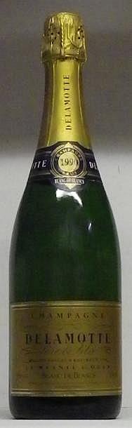 1 BOUTEILLE CHAMPAGNE DELAMOTTE BLANC DE BLANCS  1990