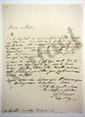 Georges CUVIER (1769-1832) zoologiste et paléontologiste. L.A.S., [3 novembre 1821], au marquis de LALLY-TOLENDAL ; 1 page in-4, adresse.