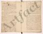 EMIGRATION. Trophime-Gérard de LALLY-TOLENDAL. 12 manuscrits, lettres ou pièces, la plupart autographes ou à lui adressés, 1793-1797.