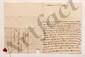 François, comte de BULKELEY (1686-1756) lieutenant général au service de France. L.A.S. « B », Valenciennes 5 décembre 1734, au Président de MONTESQUIEU à Bordeaux ; 3 pages in-4, adresse avec cachet cire rouge aux armes (brisé). [CM 415]