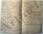 Félicité de LAMENNAIS. L.A., mercredi [août 1820, à son frère, Jean-Marie de LAMENNAIS] ; 3 pages in-8.