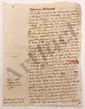 Trophime-Gérard de LALLY-TOLENDAL. MANUSCRIT autographe (inachevé), [vers 1785 ?] ; 110 pages in-4.