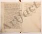 Conseil supérieur de PONDICHERY. 9 L.S. ou P.S. par des conseillers, mars 1760-février 1761, à la COMPAGNIE DES INDES à Paris, avec 10 copies de lettres ou pièces (qqs doubles), plus une L.S. de COSTAR, secrétaire de la Compagnie des Indes ; 157