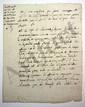 Gabriel SENAC DE MEILHAN (1736-1803) administrateur et écrivain. L.A., [vers 1775], au comte Trophime-Gérard de LALLY-TOLENDAL ; 2 pages et demie in-4.