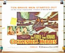 1956 COCKLESHELL HEROES HALF SHEET MOVIE POSTER APPROX. 28