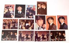 LOT OF 13 BEATLES TRADING CARDS