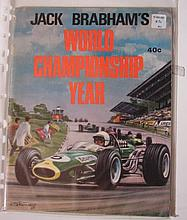 A signed copy of Jack Abraham's world championship year