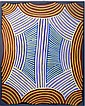 Ada Bird Petyarre (c.1930-2009) Utopia Body Paint 1989 Acrylic on canvas