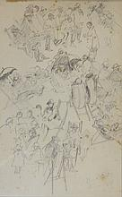 Gother Victor Fyers Mann (1863-1948) Thin Deck 6.10.26 Pencil on paper