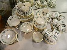 A Royal Doulton tapestry dinner set for 6 plus extras (In all 57 pieces)