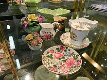 A Collection of English porcelain including Royal Crown Darby, Royal Doulton Carlton Ware etc (8 pieces)