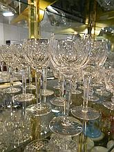 A set of 8 Waterford 'Kathleen' hock glasses