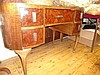 Kidney shaped dressing table A/F