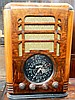 A Zenith Black Dial Tombstone Radio