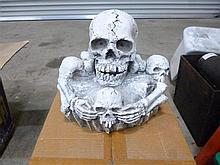 Skeleton fountain