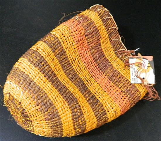 Pandanus Woven Bag, Betty Matjarea