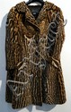 A Fine South African Ocelot Three Quarter Length Ocelot Fur Coat by Derbers,