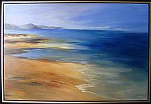Suzy King Coastal Afternoon Oil on canvas