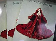 Three volumes - Joan Sutherland A Tribute (1 x hardcover)