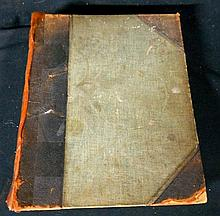 A leather bound book