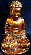 A Vietnamese Buddha seated in lotus position