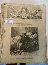 Bound copies of 'The girl's own paper 1886
