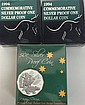 Two Royal Australian Mint 1994 commemorative silver proof $1 coins [3]