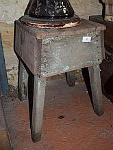 An early timber stool