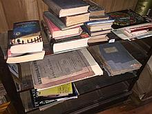 A quantity of books to bookcase