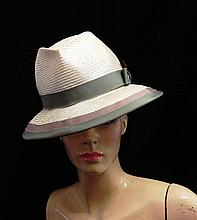A Handcrafted Straw Hat