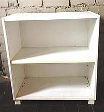 A White Bookcase